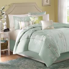 Coastal Themed Bedding Amazon Com Madison Park Athena 7 Piece Jacquard Comforter Set