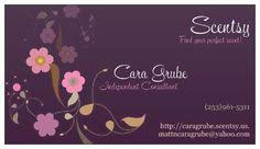 6 best images of scentsy business cards vistaprint scentsy