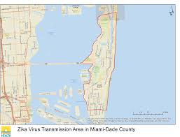 Map Of Miami Dade County by Department Of Health Daily Zika Update Florida Department Of Health