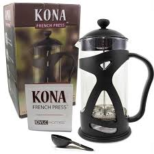 Household Gifts Amazon Com Kona French Press Coffee Maker With Reusable Stainless