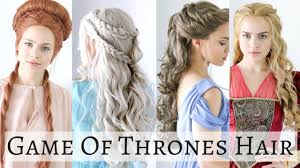 hair tutorial iconic game of thrones hairstyles hair tutorial youtube