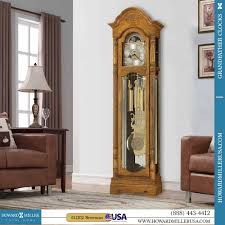 German Grandfather Clocks 611202 Howard Miller Traditional Oak Grandfather Clock Browman