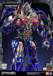 the transformers transformers the last knight optimus prime statue by prime 1