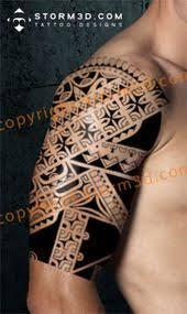 marquesan tattoo sleeve mata hoate hope vehine symbols fish