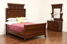 victorian eastlake quarter sawn oak gallery and antique bedroom