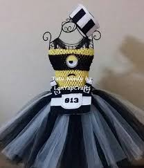 Minion Tutu Dress Etsy 3353 Tutu Images Tutu Dresses Costume Ideas