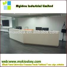 White Curved Reception Desk Cheap Small Nail Salon Reception Desk Counter White Curved