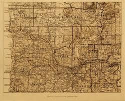 Native American Tribes Map Washington Native American Tribes