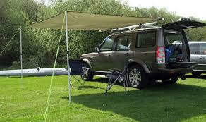 Car Tailgate Awning Kitting Out Your Land Rover For Camping Roverguide