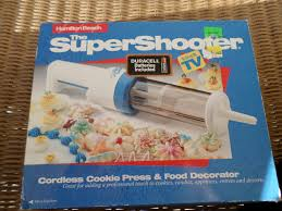 super shooter cordless cookie press battery operated christmas