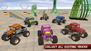 all monster trucks in monster jam monster truck stunt impossible tracks android apps on google play