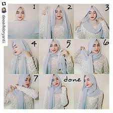 tutorial hijab simple tapi menarik 25 kreasi tutorial hijab pesta simple terbaru 2018
