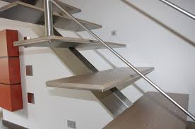 staircase with a metal u2013 lava constructions