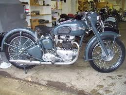 wayne u0027s triumph motorcycles 1953 thunderbird u201cblackbird u201d now part