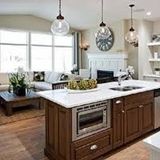 two tone kitchen island painting a twotone kitchen pictures ideas