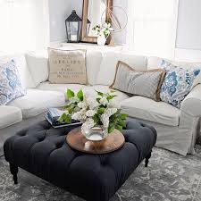 Best  Tufted Ottoman Coffee Table Ideas On Pinterest Ottoman - Interior decoration living room