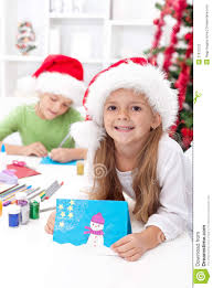 making childrens christmas cards home design inspirations