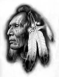 native american warrior and feather tattoo designs photo 2