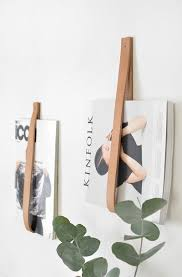 Magazine Wall Art Diy by Diy Leather Magazine Holder Magazine Holders Magazines And