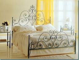 bedding graceful wrought iron bed frames frame queen plans all