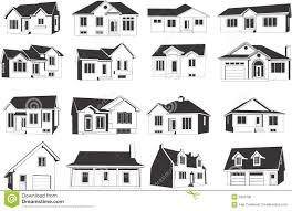house icon set royalty free stock image image 5330706