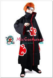 Naruto Halloween Costume Naruto Akatsuki Pein Cosplay Costume Sale