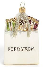 nordstrom heritage collection shopping bag ornament available at