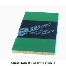 Radiant Barrier Osb Roof Sheathing by Shop Zip System 7 16 Cat Ps2 10 Osb Sheathing Application As 4 X