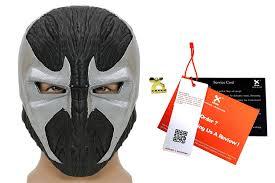 halloween costumes discount code amazon com xcoser spawn mask helmet prop for halloween