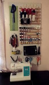 diy pegboard organization u2013 the geeky seamstress