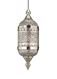 living room the moroccan hanging lamp collection silver finish