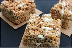 cinnamon dolce rice krispie treat a dash of sanity