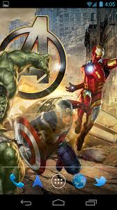 wallpaper captain america samsung amazon com the avengers live wallpaper appstore for android