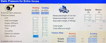 Home Hvac Duct Design by Friction Rate Hvac
