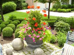 we will fill your planters full of color when you drop them off to