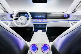 mercedes benz silver lightning interior wallpaper mercedes benz iaa concept car interior silver