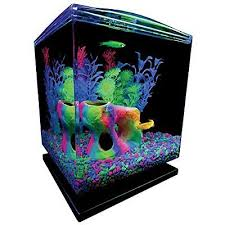 Fish Tank Desk by Tetra Aquarium Cube Tank 1 5 Gallons Aquarium Pinterest
