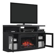 classicflame cantilever 60 inch electric fireplace media console