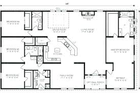 4 bdrm house plans 4 bedroom house plans one with basement craftsman style house