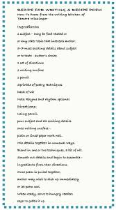 thanksgiving 2014 poem smack dab in the middle recipe for writing a recipe poem november