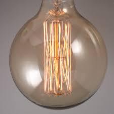 calex led light bulbs antique 125mm globe carbon filament light bulb ilovebulbs com