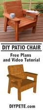 Diy Armchair Modern Outdoor Chair Plans Free By Ana White Com Behrthinkoutside
