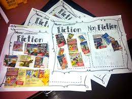 Fiction Vs Nonfiction Worksheet Fun With Firsties November 2012