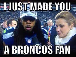 Broncos Fan Meme - the weedbowl superbowl 48 is up and here come memes and videos