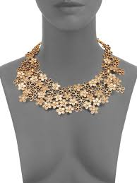 swarovski crystal flower necklace images Awesome gold flower necklace designs jewellry 39 s website jpeg