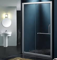 bathroom partition glass interiors design