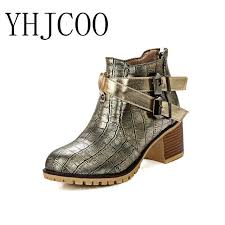buy boots europe aliexpress com buy 2017 europe fashion ankle boots buckle