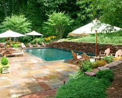 swimming pool landscaping designs home decor gallery