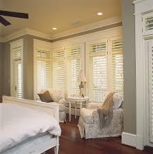 Shabby Chic Shutters bedroom plantation shutters shabby chic style bedroom