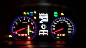 honda crv 2009 warning lights on dashboard 2007 honda cr v 2 4 instrument cluster test youtube